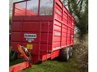 RedRock 16 ton Silage Grain Trailer