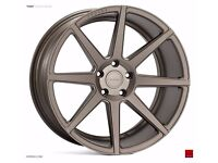 "19"" Staggered Ispiri ISR8 Matt Carbon Bronze for BMW F30 3 Series"