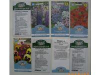 8 packs Perennial flower seeds val £18 Bristol (Oldland Common)