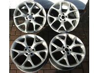 "Vauxhall Astra/Vectra/Zafira VXR/SRI/GSI 19"" Inch Alloy Wheels/Rims Only. 5x110."