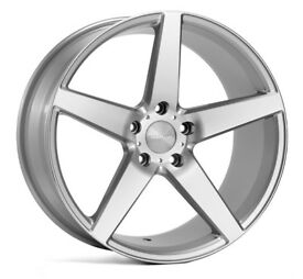 "19"" Veemann V-FS8 SMF Alloy Wheels.Suit Audi A3,VW Caddy,Golf,Jetta, Passat,Seat Leon 5x112"