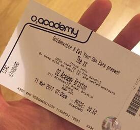 The xx - balcony ticket - 11 March 19.00 - Brixton Academy