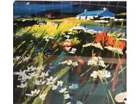 Large framed Pam Carter signed Print - limited edition