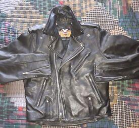 Harley Davidson Cycle Champ Jacket. size 40. £100. Ono...