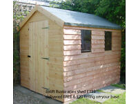 Garden Sheds for sales other sizes and products available - delivered free fitting available
