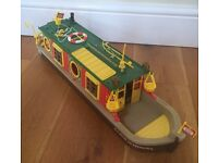 Sylvanian Families Riverside Canal Boat Toy Rose Of Sylvania Barge Flair
