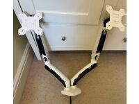 Dual 27inch; Monitor Mount (2 available)