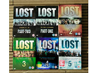 Lost DVD's Series 1 to 5