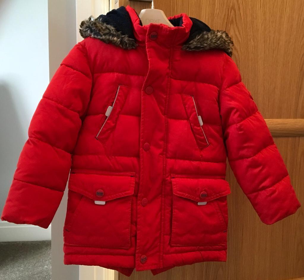 8e3f01b43d8e5 Ted Baker Boys Parker Coat Red
