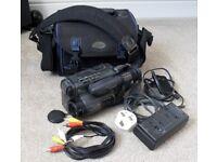 Faulty Sony CCD-TR707E Camcorder Handycam Video8 + Power Supply AC-V30