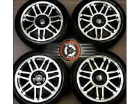 "17"" Brand New VW alloys 5x100, Golf4 Bora Beetle, polished / black, great tyres."