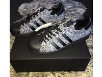 SNEAKERSNSTUFF X SOCIAL STATUS X ADIDAS SUPERSTAR BOOST size UK10