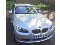 BMW 325i SE coupe, silver, 55k miles, petrol, manual