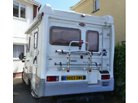 2003 PEOGOT AUTOCRUISE 2 BERTH MOTORHOME. NEW MOT 35.777 MILES RECENT CHASIS WAX OILED