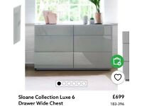 Brand New Unopened Next Luxe Sloane Furniture