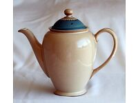 Denby ware Luxor range discontinued coffee pot