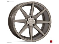 """19"""" Staggered Ispiri ISR8 on tyres for an E90, E91, E92 and E93 BMW 3 Series"""