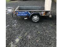 Ifor Williams quad trailer