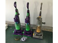 3x dyson dc04 hoovers