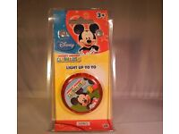 Box of 10 yo-yo' s Micky Mouse Disney new in packaging