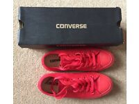 Red Size 4 Womens Converse