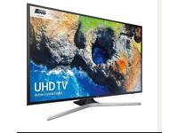 "40"" Samsung Smart 4K Ultra HD HDR LED TV UE40MU6100"