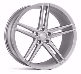 "20"" Veemann V-FS33 Alloy Wheels and Tyres. Suit Audi A4, A5 & A6 (5x112)"