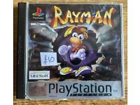 PlayStation 1 Rayman game