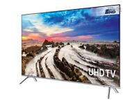"65"" SAMSUNG Smart 4K Ultra HD HDR LED TV UE65MU7000 warranty and delivered"