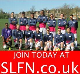 SATURDAY 11 ASIDE FOOTBALL, FIND 11 ASIDE FOOTBALL TEAM, PLAY FOOTBALL LONDON 191u2h2