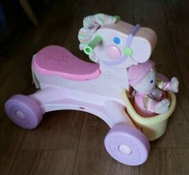 Fisher-price musical pony