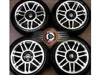 "17"" Brand New VW alloys 5x100, Golf4 Bora Beetle, polished / black, great tyres."
