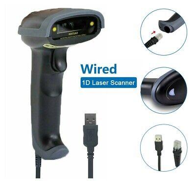 Usb Laser Handheld Barcode Bar Code Scanner Upc Label Reader Removable Portable
