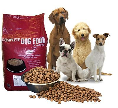 15kg Premium Adult Dog Food Chicken & Rice Complete Hypoallergenic dry biscuits