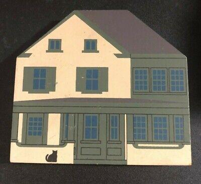 YULE CUPBOARD Cat's Meow Wooden Shelf Sitter 1988 Jaline '93 Hagerstown Series