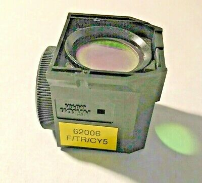 Nikon Ftrcy5 Triple Fluorescence Filter For Te Microscopes Missing Exciter