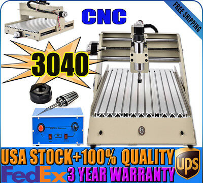 Industry Cnc3040 Router Engraving Cutting Wood Drilling Machine Palrallel Port
