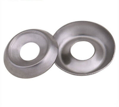 6 8 10 12 304 Stainless Steel Cup Washer Fish - Eye Pad Concave Gaskets
