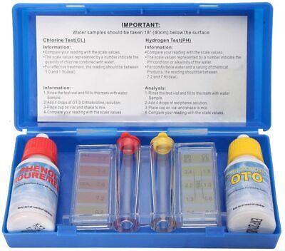 Medidor del cloro y PH del agua - Kit Tamar