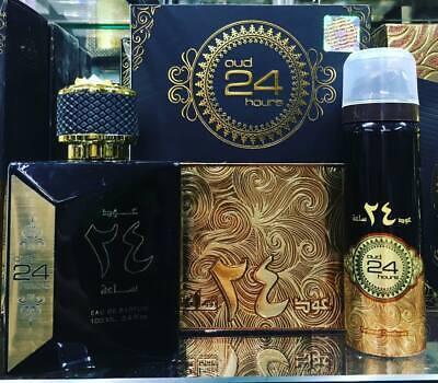 Orginal New OUD 24 Hours by Ard Al Zafraan Eau de Parfum - 100ml WITH FREE GIFT