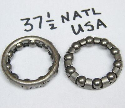Vintage NOS 51 Bicycle Bearing Retainers 15 Balls 38.75mm Diameter