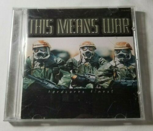 This Means War: Hardcores Finest- Various (CD, 2000, Sadistic) Avenged Sevenfold