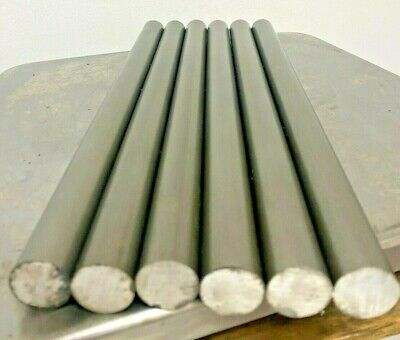 12l14 Steel Bar Stock 2732 In .843 Round X 12 6 Pc Lot
