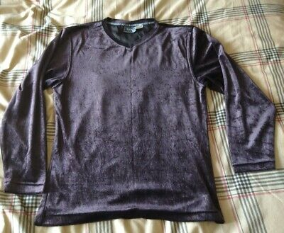 Mans Vintage Versace Long Sleeve Jumper