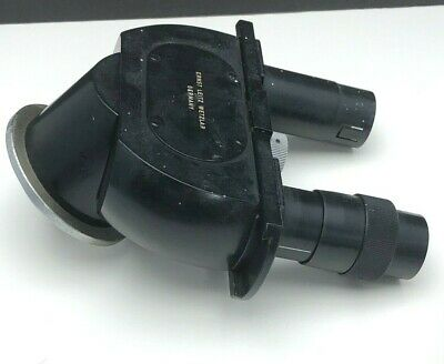 Ernst Leitz Wetzlar Germany Binocular Microscope Head125x C No Eyepieces