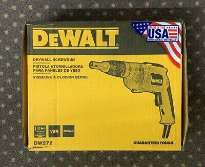 DeWalt Drywall Screwgun Model DW272 New In The Box Free Shipping Dewalt Drywall Screwdriver