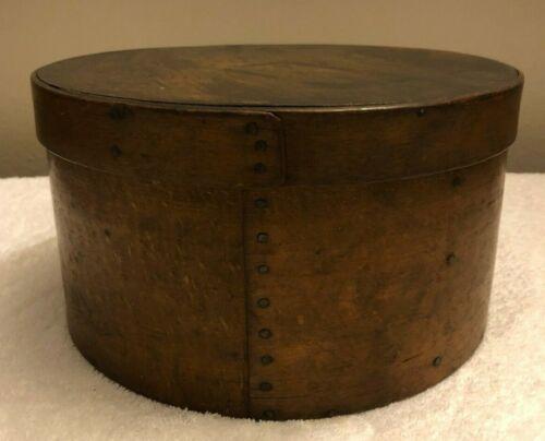 """E. Kendall WOODEN PANTRY BOX WINCHENDON MASS. 9.5"""""""