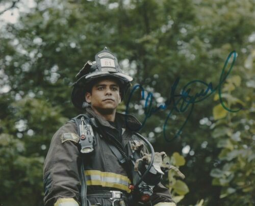 Charlie Barnett Chicago Fire Autographed Signed 8x10 Photo COA 2019-1