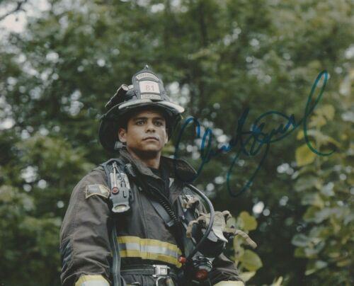 Charlie Barnett Chicago Fire Autographed Signed 8x10 Photo COA 2019-1