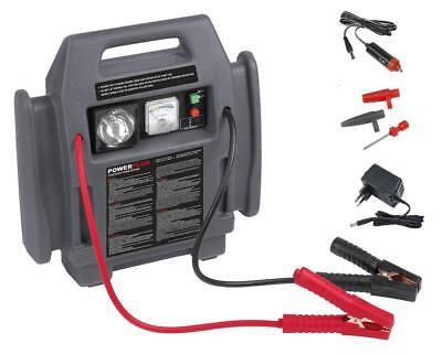 Jump Starter 4 in 1 Avviatore portatile emergenza auto 900A compressore torcia